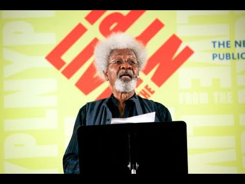 Wole Soyinka | LIVE from the NYPL