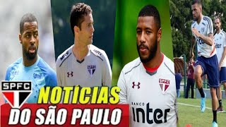 ÚLTIMAS NOTÍCIAS DO SÃO PAULO! DEDÉ, HUDSON, DANIEL ALVES, JUANFRAN, DM DO SPFC, PRÉ JOGO SPFC X CEA