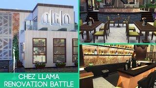 Chez Llama Renovation Battle | The Sims 4