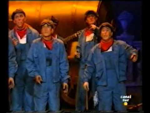Comparsa El vapor (1997) - Actuacion completa en la Final y Repertorio completo.