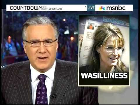 Keith Olbermann Talks About Sarah Palin's Inanity