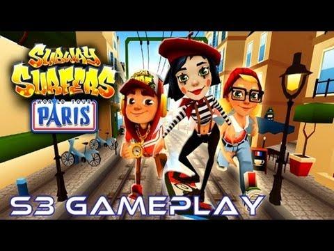 Subway Surfers: Paris - Samsung Galaxy S3 Gameplay