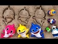 Pinkfong Shark Family Sand Play Set Let S Play Fun Sand With The Baby Shark Pororo PinkyPopTOY mp3