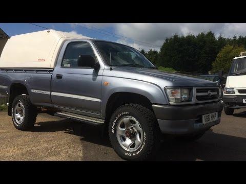 1995 toyota hilux for sale 4x4 single cab diesel 2lt 2 4 hi lux pickup truck export. Black Bedroom Furniture Sets. Home Design Ideas