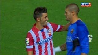 David Villa vs Barcelona (A) 13-14 720 HD - SuperCopa by Isco23i