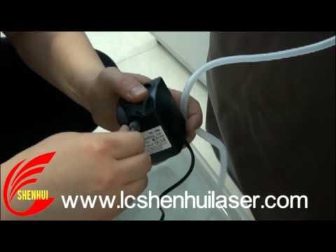 K40 laser machine additional equipment  installation