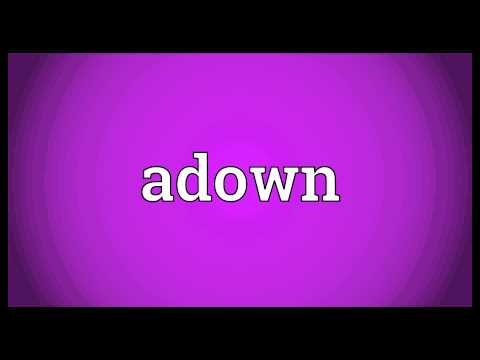 Header of adown