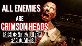 ALL ENEMY = CRIMSON HEAD - Resident Evil HD Remaster