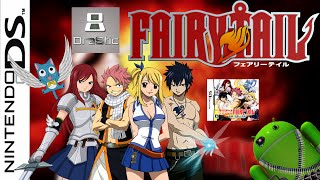 Fairy Tail para Android Drastic | NDS PC