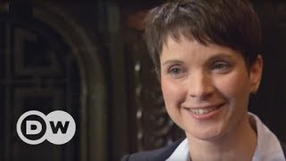 Frauke Petry Alternative for Germany Gets Hassled by Has Been Brit Journo Hack