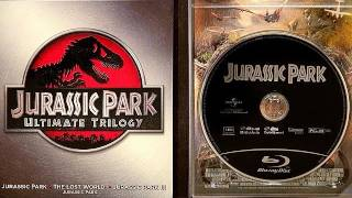 Jurassic Park blu ray Trilogy unboxing review Ultimate box set