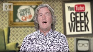 Geek Week - Can we build a lift into space? - James May's Q&A (Ep 33) - Head Squeeze