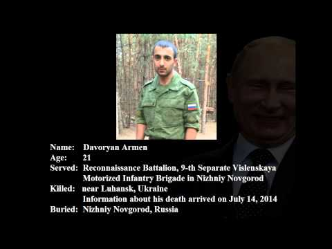 List Of Russian Soldiers Killed In Ukraine.