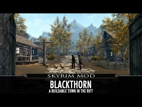 Skyrim Mod - Blackthorn - Buildable Town