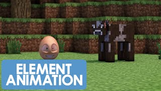 An Egg's Guide To Minecraft - PART 1 - What's Minecraft? (Minecraft Animation)