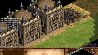 AGE OF EMPIRES 2 AoE2 - HOW MANY WONDERS YOU CAN PLACE IN TINY MAP