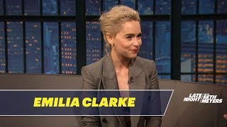 Emilia Clarke Had an Awkward Meeting with Prince William