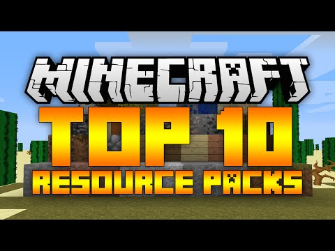 Top 10 Minecraft Resource Packs (Minecraft 1.12/1.11.2) - 2017 [HD]