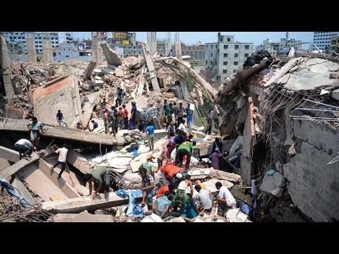 Dhaka building collpase kills dozens in Bangladesh