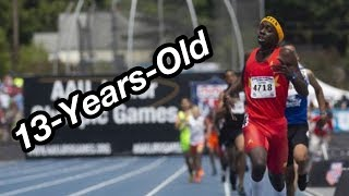 13-Year-Old 47s 400m WORLD RECORD!
