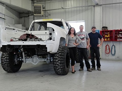 Storm Truck Project Episode 5 - Moto Metal Wheels and ...