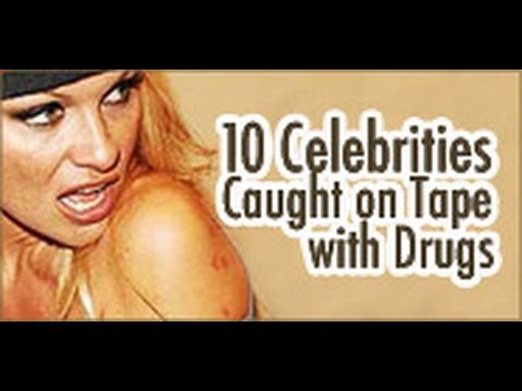 10 Celebrities Caught on Tape with Drugs