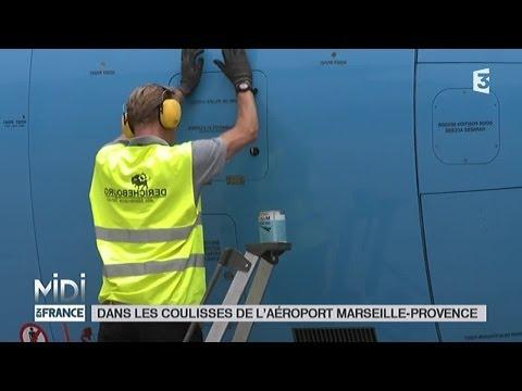 LE FEUILLETON : Dans les coulisses de l'aéroport Marseille-Provence