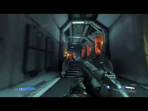 Exclusive DOOM 1080p 60FPS Gameplay with Vulkan API on GeForce GTX