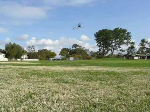 First outdoor flight with my Exceed Falcon 40 V2 RC Helicopter