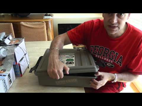 MTM ACR5  Ammo Crate Storage Review