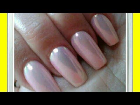 Aurora pigment nails