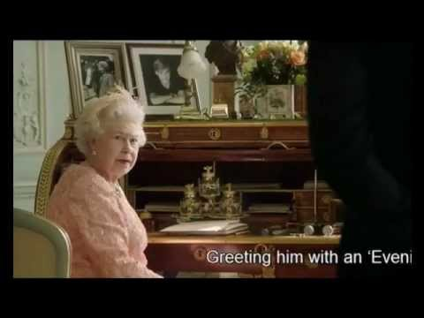 Daniel Craig James Bond 007 & The Queen - London Olympics Opening Ceremony 2012 SKYFALL