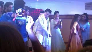 Mohsin khan and shivangi joshi dance her sister wedding