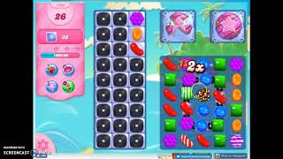 Candy Crush Level 1292 Audio Talkthrough, 2 Stars 0 Boosters
