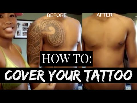 How to Cover your Tattoos   Dermablend Cover Creme
