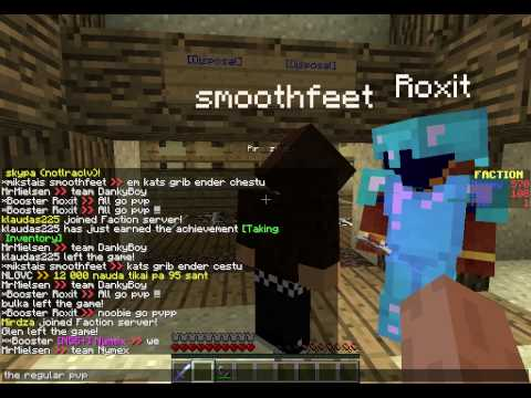 Minecraft 1.7.4 cracked server (Pvp/Factions) 24/7 Join Now IP: mc.ngc.lv