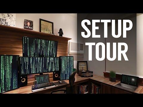 Ultimate Desk Setup Tour 2017