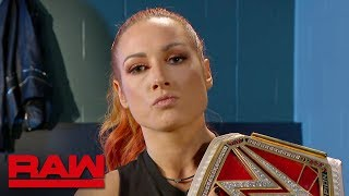Becky Lynch fires back at Sasha Banks: Raw, Aug. 19, 2019