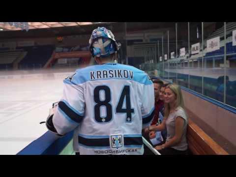 Хоккеисты Сибири устроили сюрприз владельцам абонементов