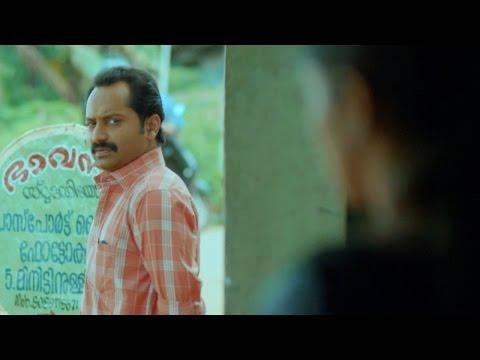 Maheshinte Prathikaaram I Mahesh & Jincy - Bus stop scene I Mazhavil Manorama