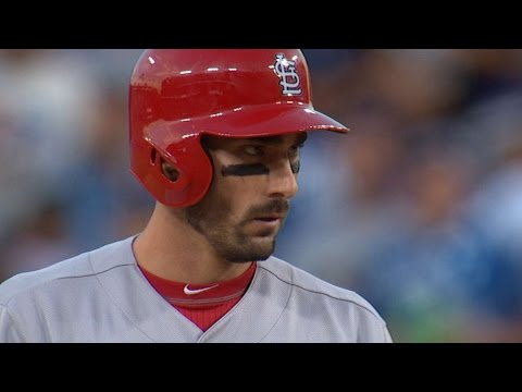 STL@LAD Gm1: Carpenter bests Kershaw in long at-bat