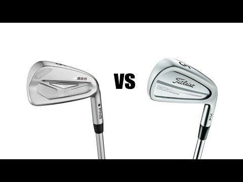 Titleist 714 CB Irons Vs Ping S55 Irons Comparison and Review