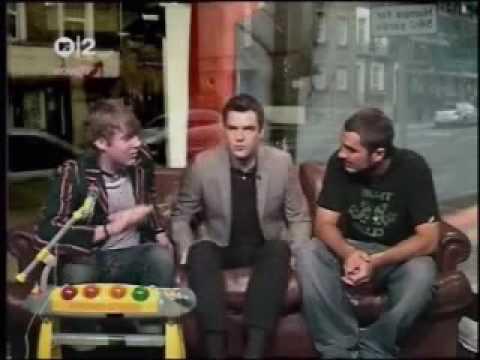 Zane Lowe Interviews Brandon Flowers and Ricky Wilson