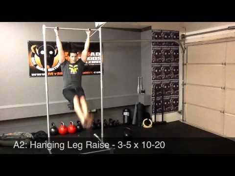 Hanging Lifts & Kettlebell Core Strength Workout: Day 20 Image 1