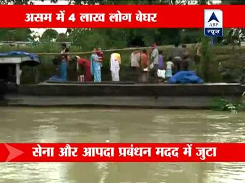 Assam flood situation worsens, 18 killed