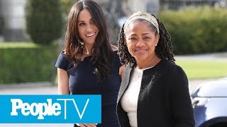 Grandma Has Arrived! Doria Ragland Arrives In London Ahead Of Birth Of Royal Baby: Report | PeopleTV