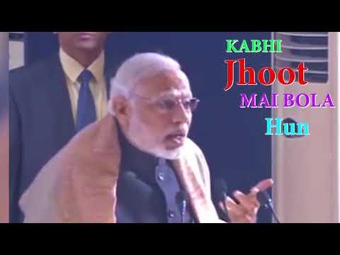 PART :1 : Kabhi Nahi | Modi Version | Adnan sami | The Underground editor