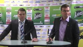 4.10.2014 SaiPa - Sport lehdistötilaisuus