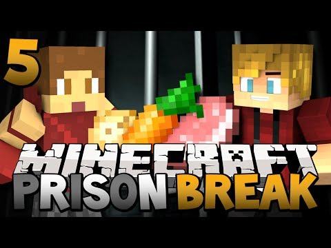 Minecraft Prison Break Farming in Jail Season Two Minecraft Jail Break Episode 5