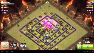 th8 anti dragon base attack all dragon rush